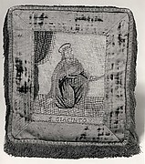 Cushion with Saint Hyacinth