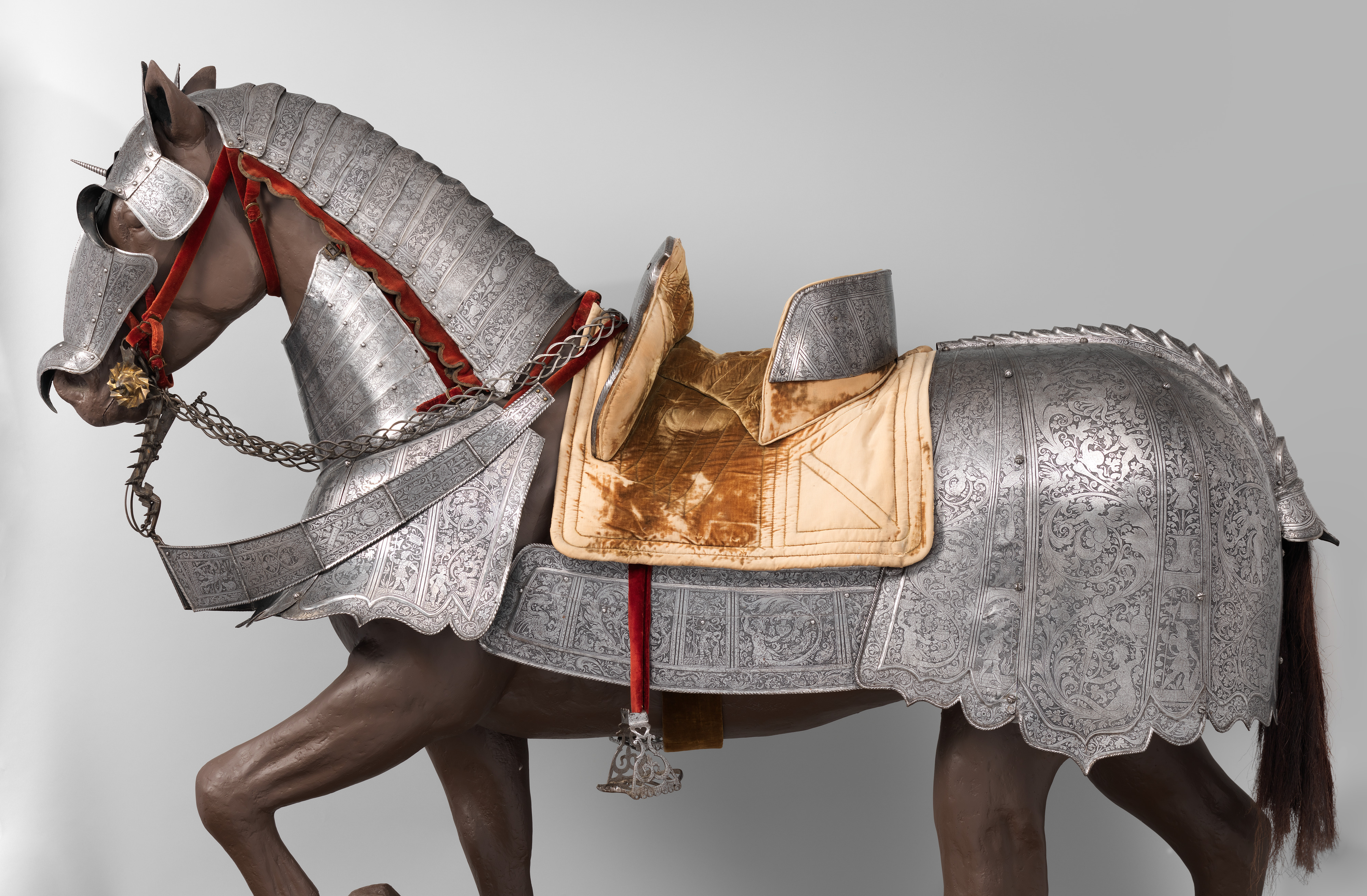 Armor for Man and Horse | Italian, Milan and Brescia | The Met