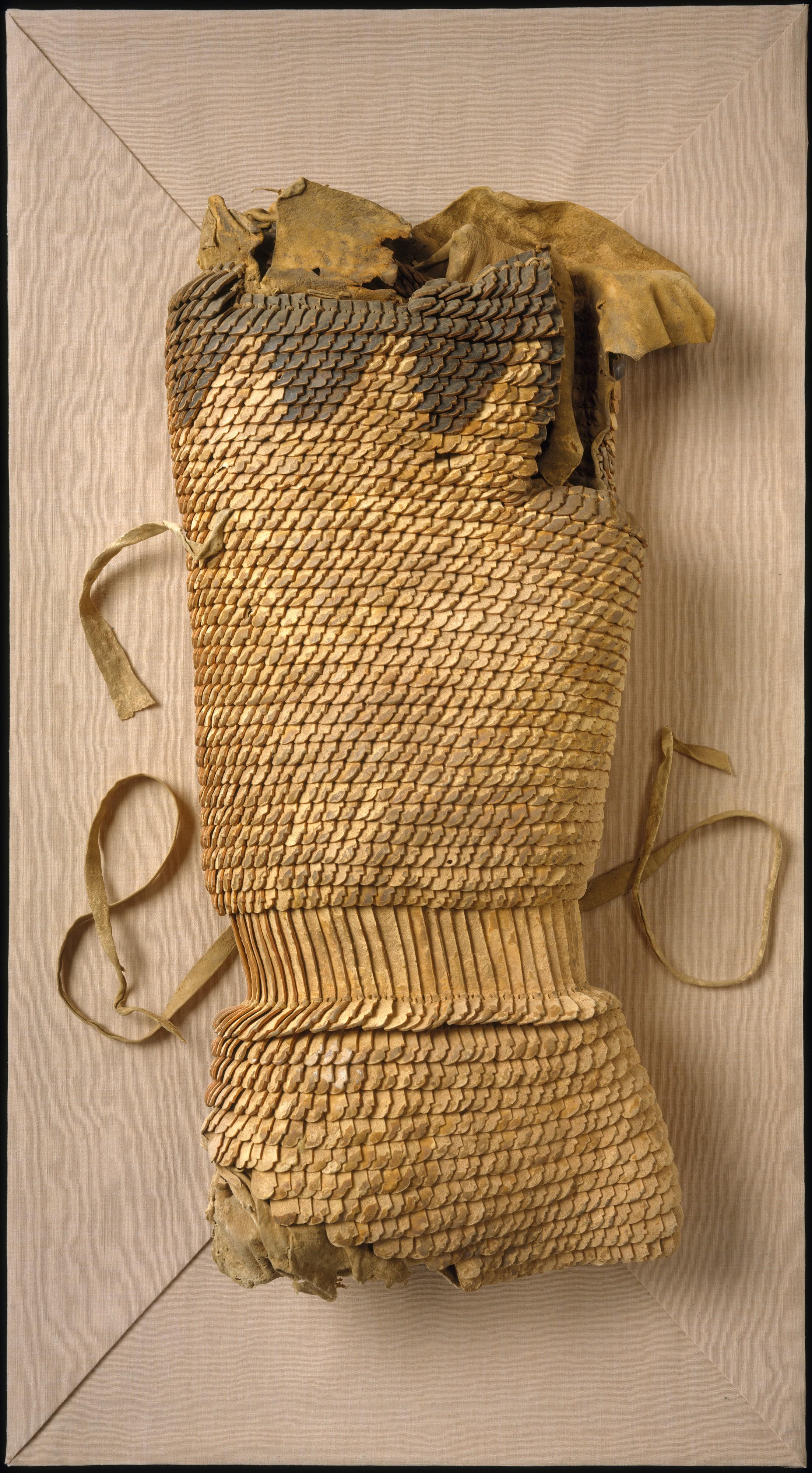 Scale Armor Subeixi Or Scythian The Metropolitan Museum Of Art