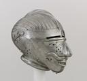 Armet with Mask Visor, Steel, German, Nuremberg or Austrian, Innsbruck