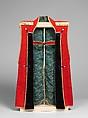 Surcoat (Jinbaori) for a Boy, Wool, silk brocade, metallic yarn, wool, Japanese