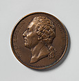 Leclerc Medal with Case, Émile Fernand-Dubois (French, 1869–1952), Bronze, leather, textile, French