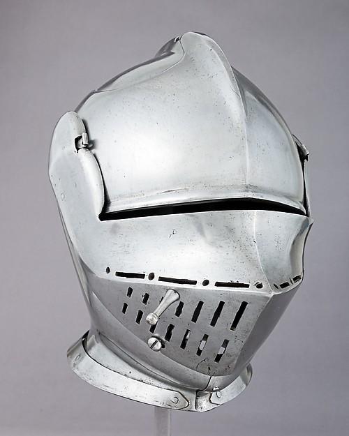 Armet, Steel, possibly British or Flemish