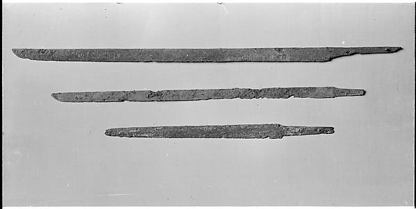Blade for a Straight Single-Edged Sword (Chokutō), Iron, Japanese