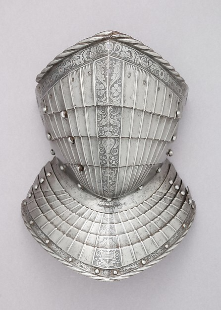 Falling Buffe, Attributed to Kolman Helmschmid (German, Augsburg 1471–1532), Steel, textile (wool, canvas), German, Augsburg