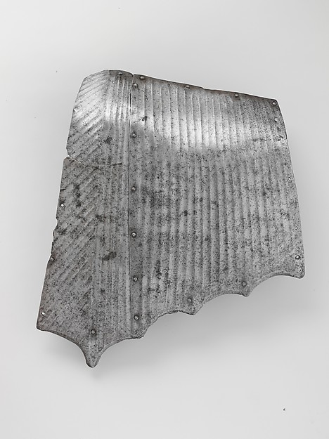 Side Panel of a Crupper, Steel, German