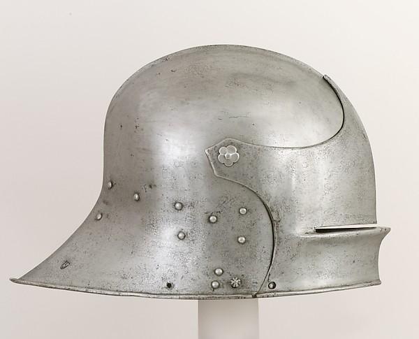 Sallet, Attributed to Hans Blarer the Younger (German, Basel, documented 1453–83), Steel, German, Basel