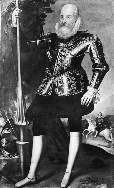 Luigi III, Prince of Venosa, Oil on canvas, Italian, Naples