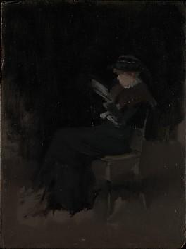 Arrangement in Black: Girl Reading