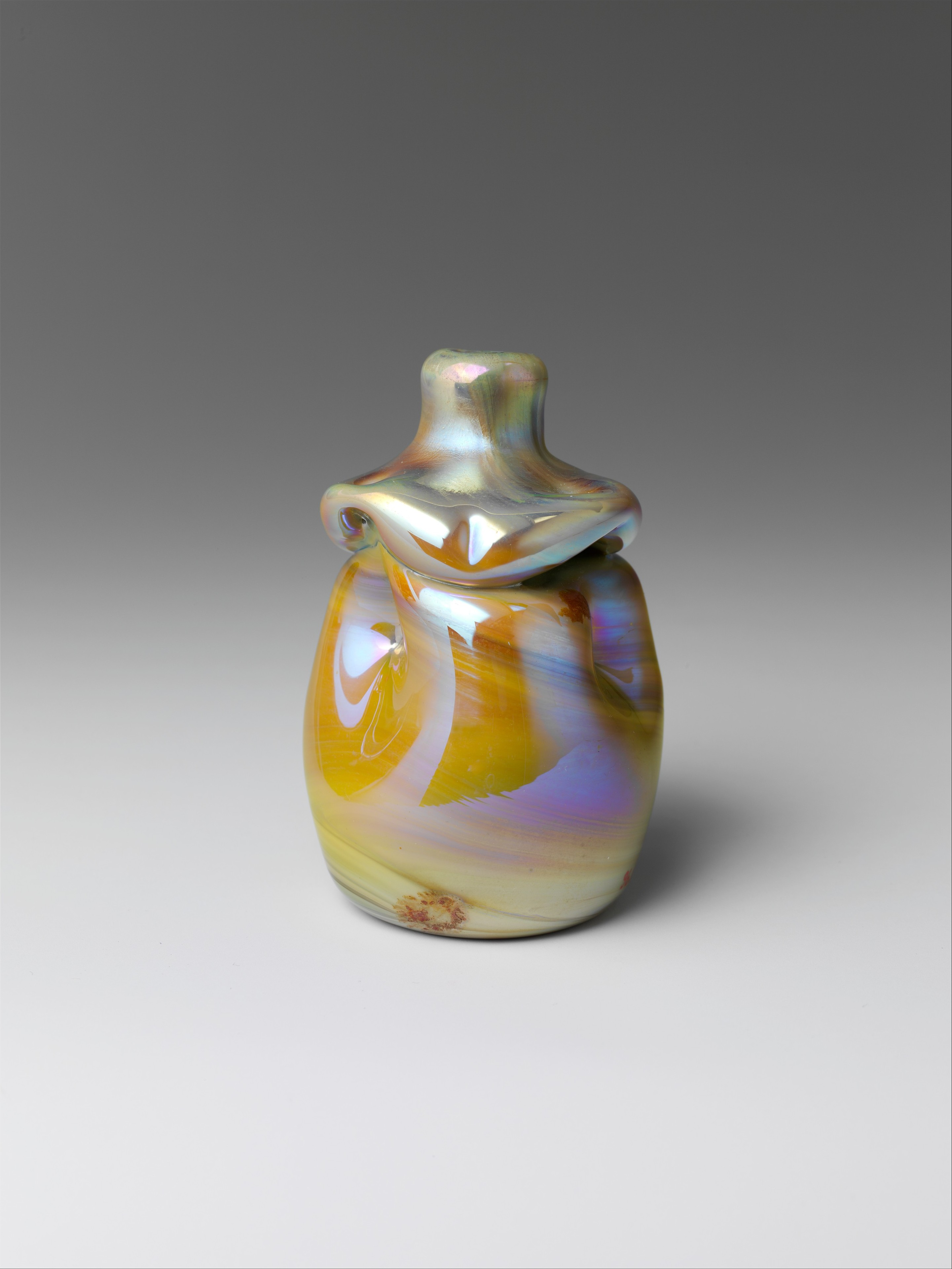 Designed By Louis Comfort Tiffany Vase American The Met