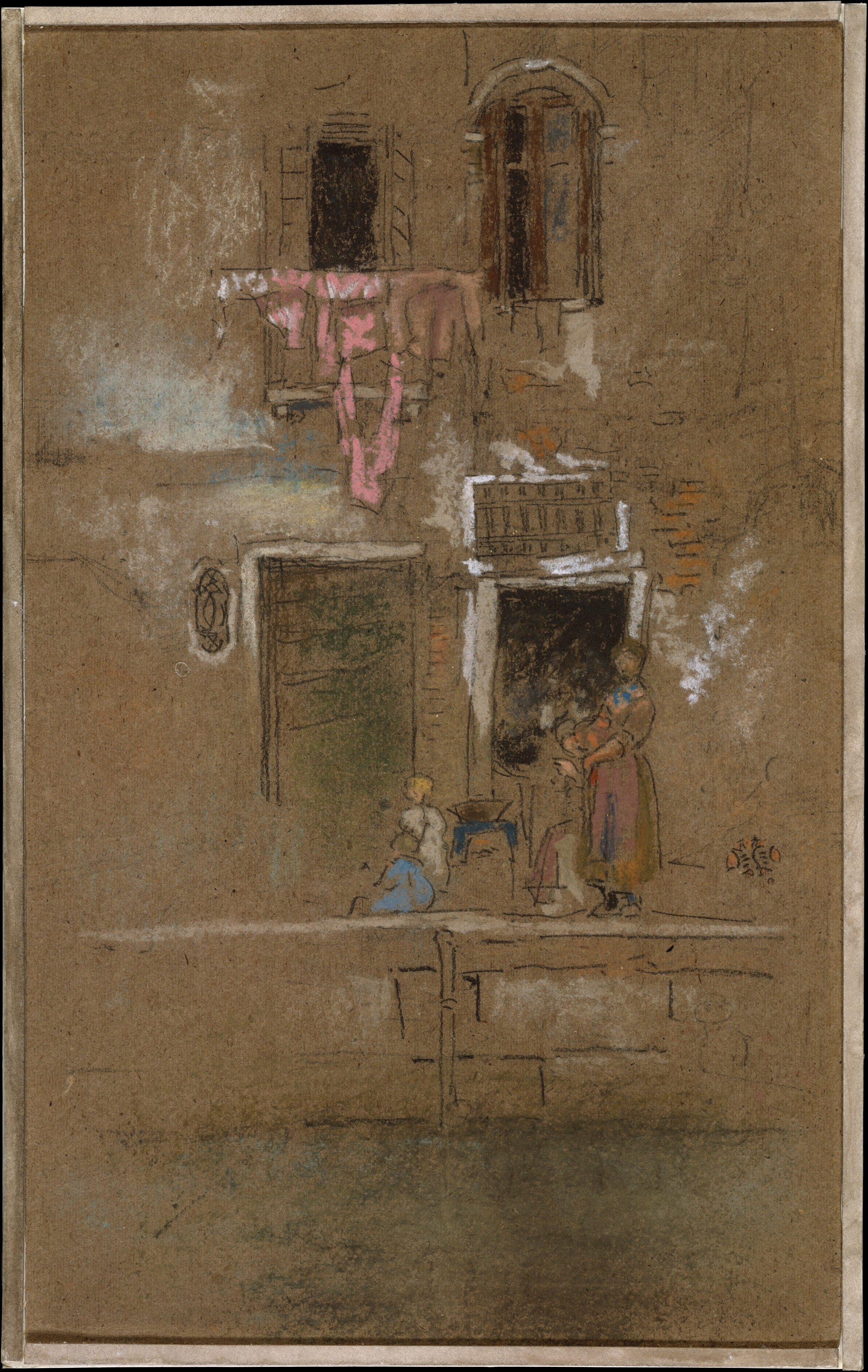 James Mcneill Whistler Note In Pink And Brown American The Met