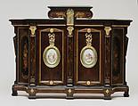 Cabinet, Alexander Roux (1813–1886), Rosewood, tulipwood, cherry, poplar, pine, American