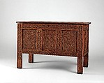 Chest, Attributed to the Searle-Dennis shop tradition, Red oak, white oak, hard maple, white pine, American