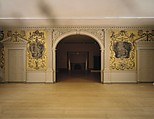 Door from the Great Hall of Van Rensselaer Manor House, Albany, New York, Pine, American