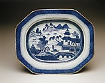 Platter and Rack, Porcelain, Chinese