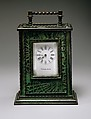 Clock, Designed by Louis Comfort Tiffany (American, New York 1848–1933 New York), Glass, bronze, American