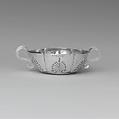 Dram Cup, Jacob Boelen (ca. 1657–1729), Silver, American