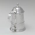 Tankard, Benjamin Burt (American, Boston, Massachusetts 1729–1805 Boston, Massachusetts), Silver, American