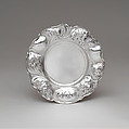 Plate, Gorham Manufacturing Company (American, 1831–present), Silver, American