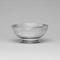 Punch Bowl, Ephraim Brasher (American, baptized 1744–1810), Silver, American