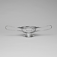 Two-handled Bowl, Marcus and Co. (American, New York, 1892–1942), Silver, stones, American