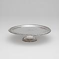 Footed Salver, John Coney (1655/56–1722), Silver, American