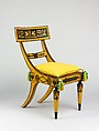 Side Chair, Attributed to John Finlay (active ca. 1799–1833), Maple, American