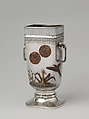 Vase, Gorham Manufacturing Company (American, 1831–present), Silver and copper, American