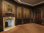Paneling from Marmion, the Fitzhugh Family House, Tidewater, Virginia, Pine and walnut, American
