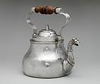 Teakettle, Cornelius Kierstede (1674–ca. 1757), Silver, American
