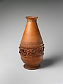 Vase, Designed by George W. Fenety (active ca. 1876–1932), Red earthenware, American