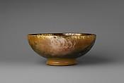 Bowl, Albert R. Valentien (American, Cincinnati, Ohio 1862–1925 San Diego, California), Earthenware, American