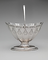 Sugar Basket, Paul Revere Jr. (American, Boston, Massachusetts 1734–1818 Boston, Massachusetts), Silver, American