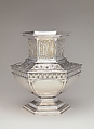 Vase, Arthur J. Stone (1847–1938), silver and gold, American