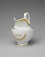 Creamer, Tucker Factory (1826–1838), Porcelain, American