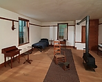 Architectural elements from North Family Dwelling, New Lebanon, New York, Wood, American, Shaker