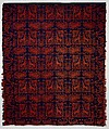 Coverlet, Wool, woven, American