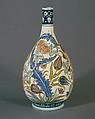 Vase, John Bennett (1840–1907), Earthenware, American