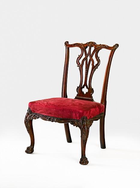 Side chair, Mahogany, American