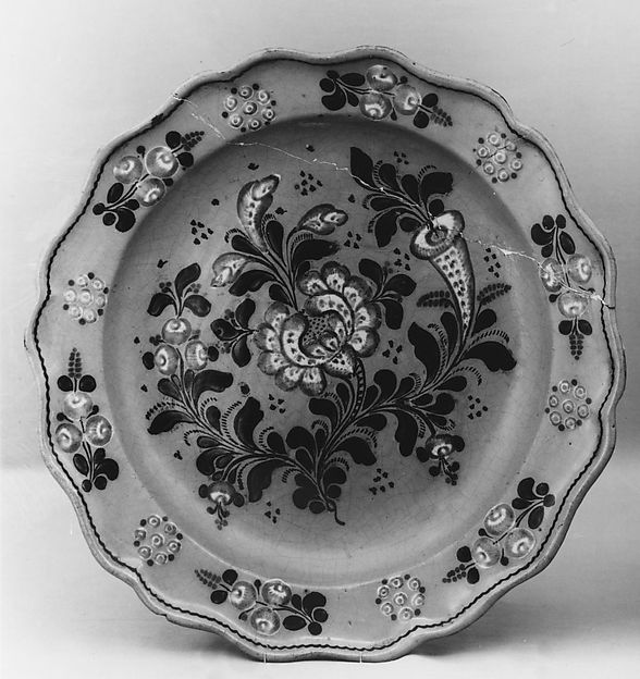 Plate, Earthenware, Mexican