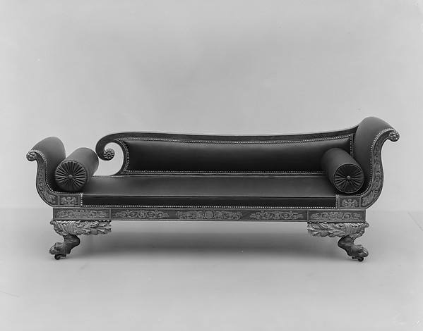 Sofa, Attributed to the Workshop of Duncan Phyfe (1770–1854), Maple, American