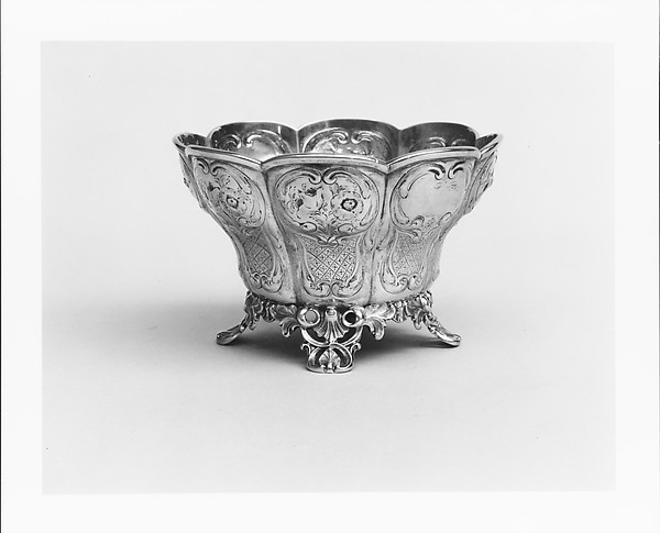 Slop Bowl, Ball, Tompkins and Black (active 1839–51), Silver, American