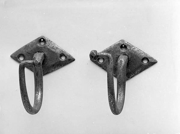 Jamb Hook, Iron, steel
