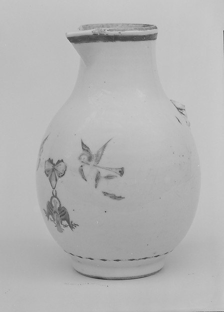 Cream Pitcher, Porcelain, Chinese