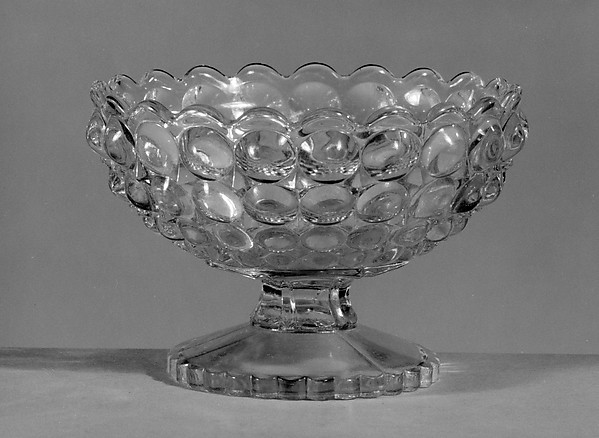 Sauce Dish, Richards and Hartley Flint Glass Co. (ca. 1870–1890), Pressed yellow glass, American