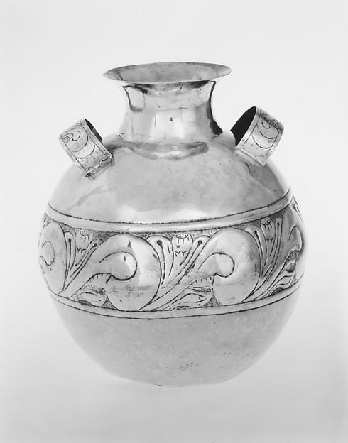 Pot, Silver, South American (Bolivian)