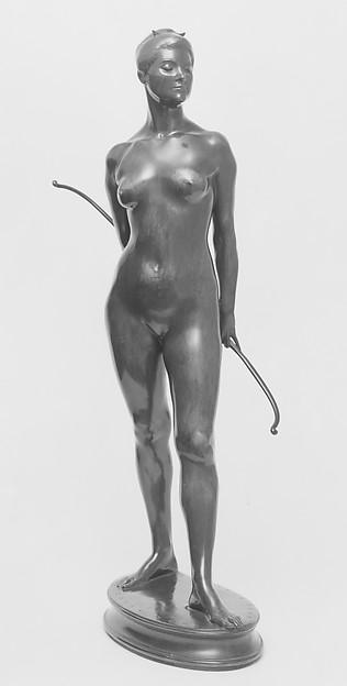 Diana, Karl Theodore Bitter (American (born Austria), Vienna 1867–1915 New York), Bronze, American