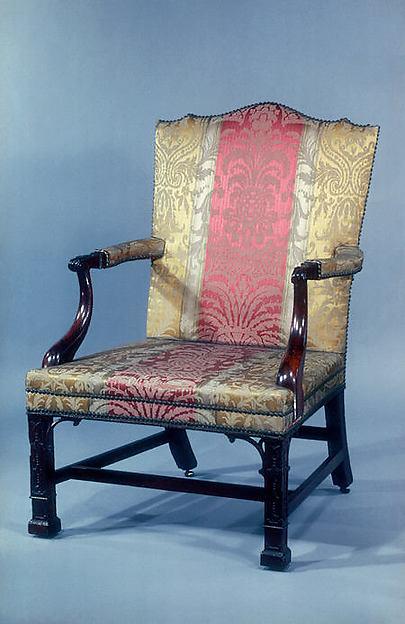 Armchair, Attributed to Thomas Affleck (1740–1795), Mahogany, white oak, American