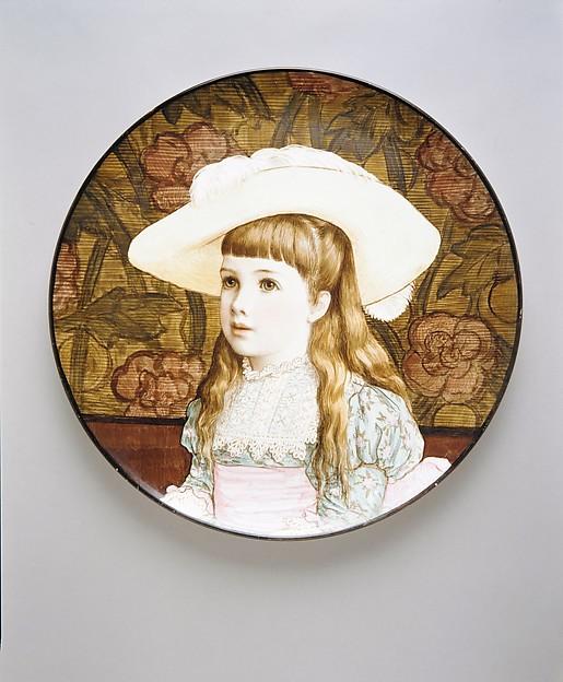 M. B. Brown, Rosina Emmet (American, New York 1854–1948 New York), Earthenware, British (American market)