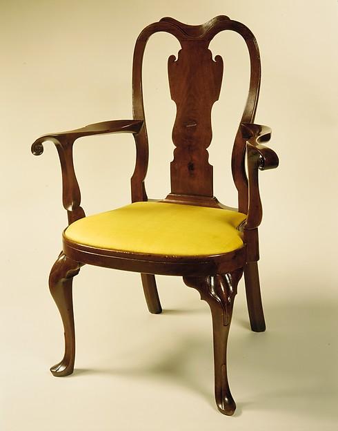 Armchair, Walnut, American
